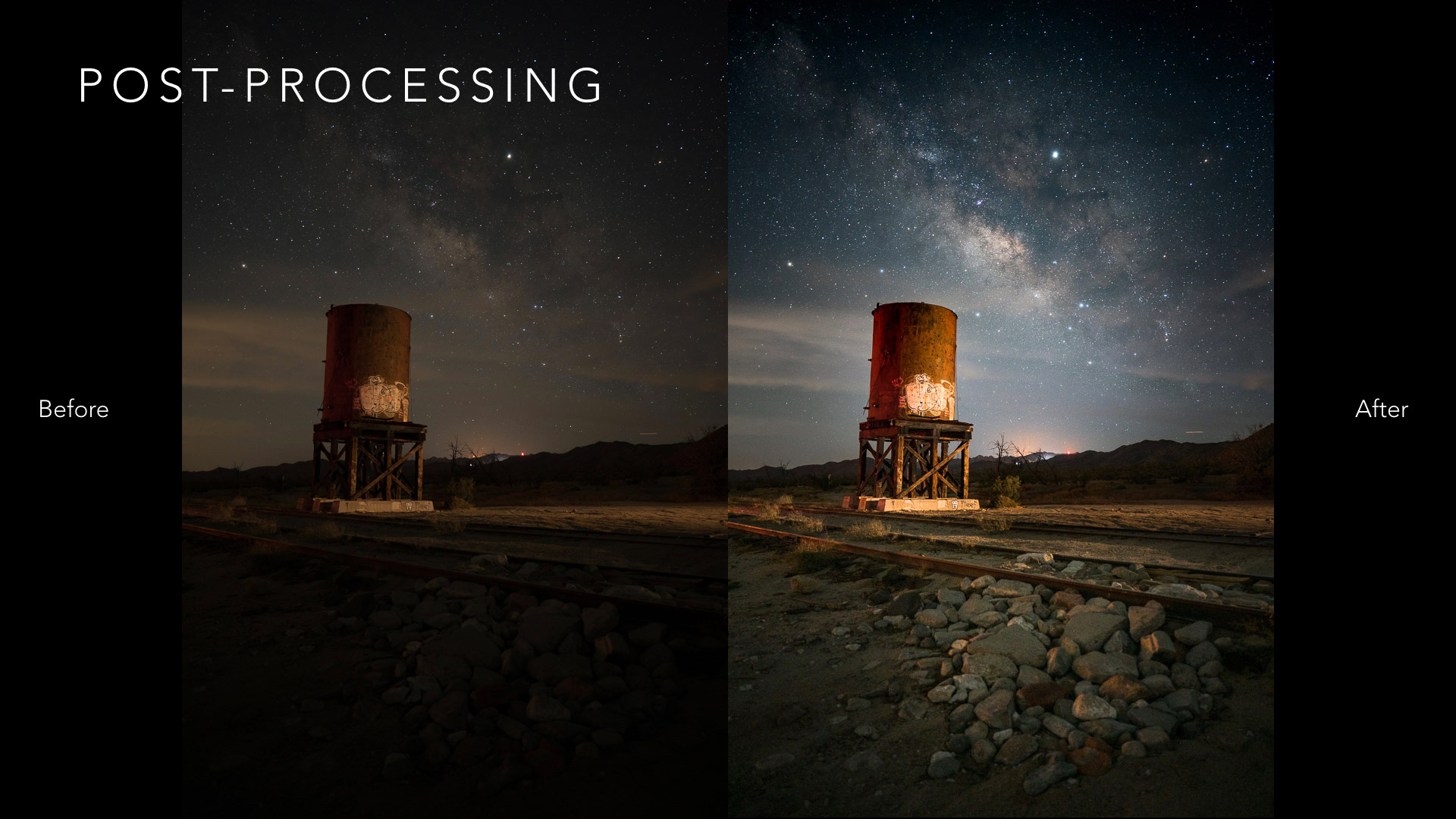 Post processing your shot