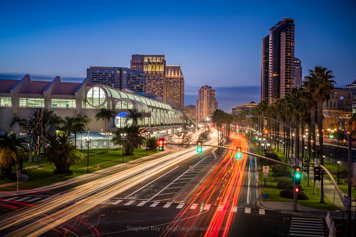 Harbor Drive and the Convention Center