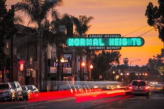 Normal Heights Sign
