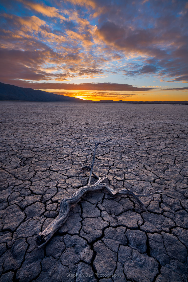 Clark Dry Lake Bed, Anza-Borrego