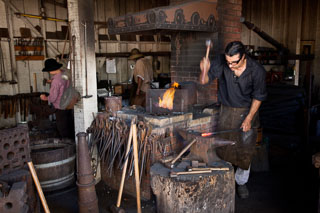 Blacksmith in Old Town