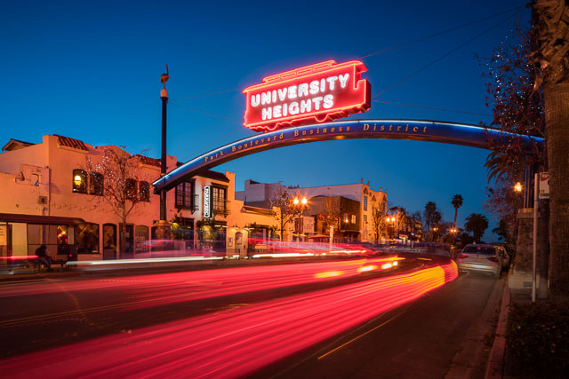 - University Heights Sign