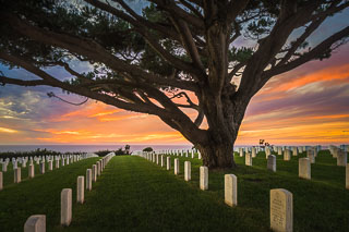 Fort Rosecrans National Cemetery, Point Loma, San Diego