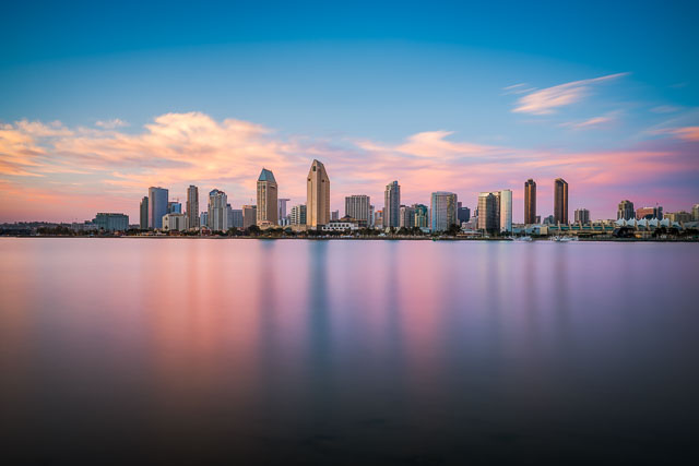 Daydreaming - Skyline from Coronado Ferry Landing