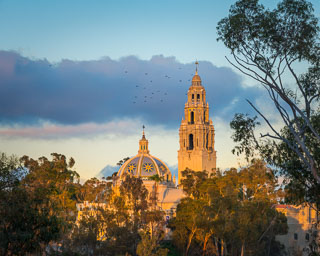 California Tower and Dome, Balboa Park