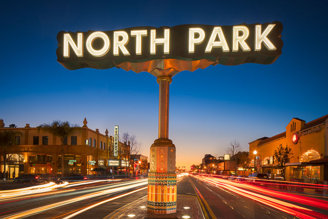 - North Park Sign