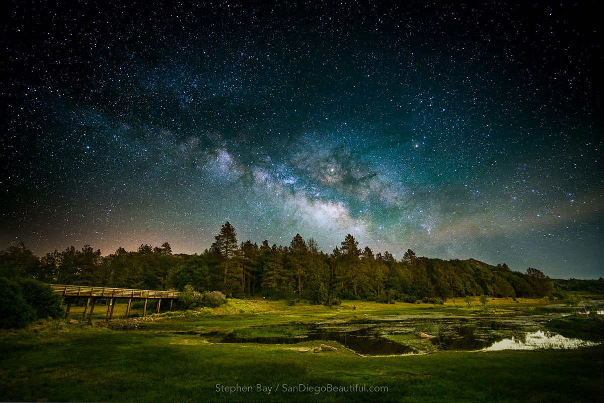 Lake Cuyamaca Milky Way
