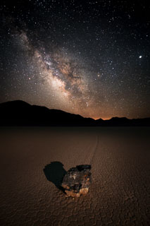 Milky Way and the Racetrack, Death Valley NP