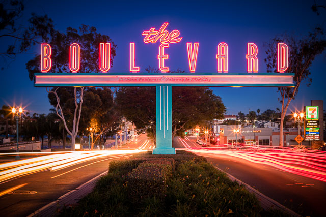 - The Boulevard Sign